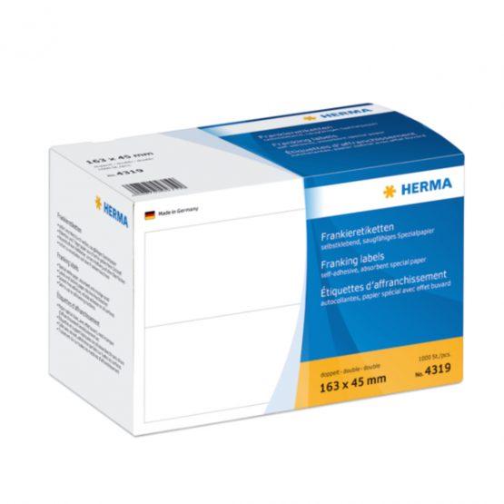 Herma label franking double 163x45 (1000)