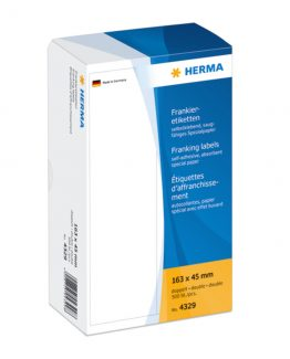 Herma label franking double 163x45 (500)