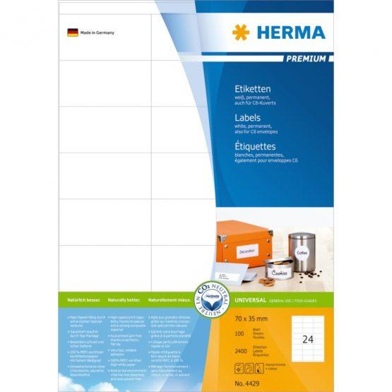 Herma label Premium 70x35 (2400)