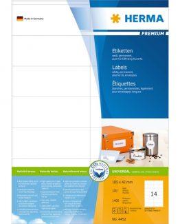 Herma label Premium 105x42 (1400)
