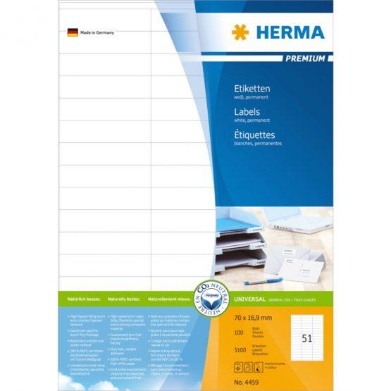 Herma label Premium 70x16,9 (5100)