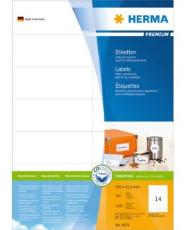 Herma label Premium 105x42,3 (1400)