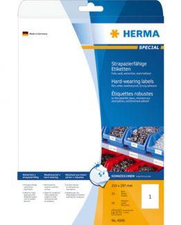 Herma label film extra strong 210x297 matt (25)