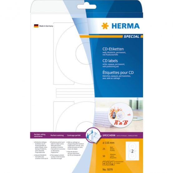 Herma label Special CD ø116 (50)
