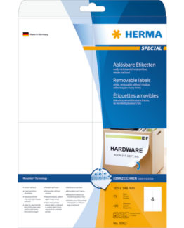 Herma label removable 105x148 (100)