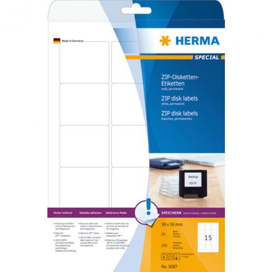 Herma label Special ZIP diskette 59x50 (375)
