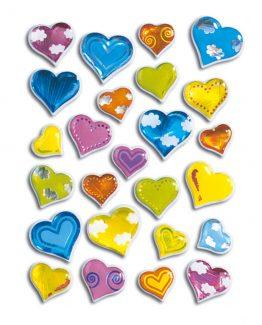 Herma stickers Magic coloured hearts (1)