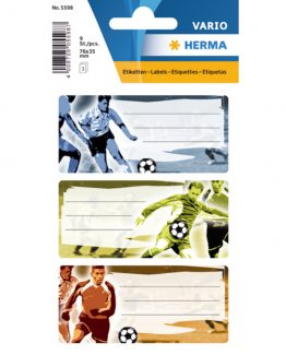 Herma stickers Vario book label football (3)