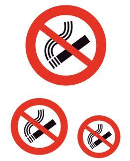 """Herma label """"No smoking"""" (3)"""