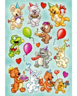 Herma stickers Magic animal birthaday (1)