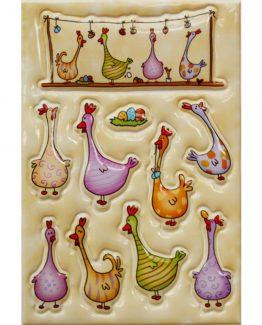 Herma stickers Magic coloured chicks (1)