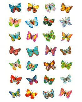 Herma stickers Magic butterflies glittery (1)