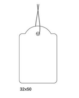 Herma strung marking tag w/string 32x50 (1000)