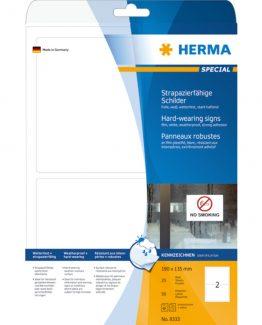 Herma label film extra strong 190x135 matt (50)