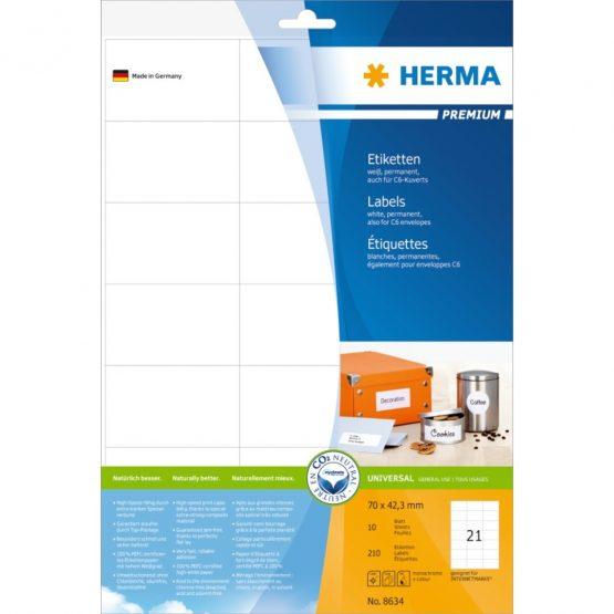 Herma label Premium 70x42,3 (210)