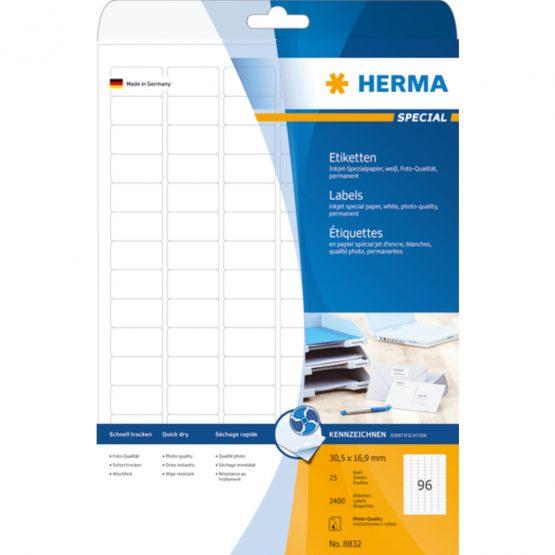 Herma label Special Inkjet 30,5x16,9 (2400)