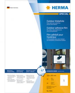 Herma label film extra strong 210x297 (50)