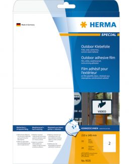Herma label film extra strong 210x148 (20)