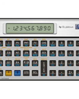 HP12CPL financial calc. Platinum (Nordic)