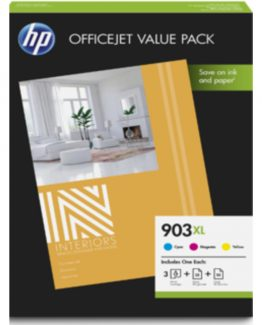 No903 XL CMY ink office value pack