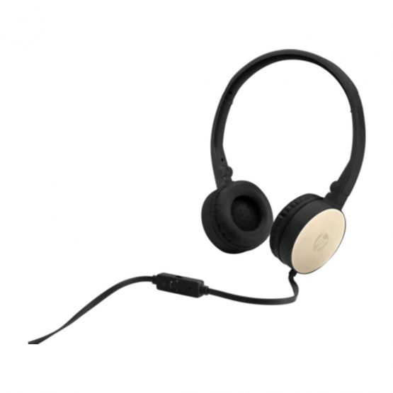 HP Stereo Headset H2800, Black/Silk Gold