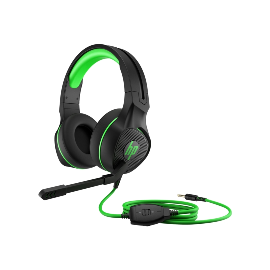 HP Pavilion Gaming Headset 400, Black/Green