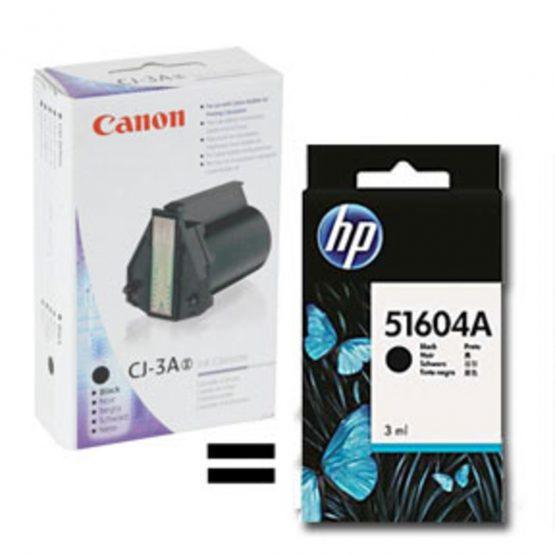 ThinkJet black inkjet cartridge