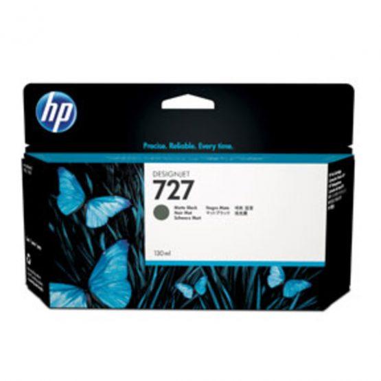 No727 Matte black ink cartridge, 130 ml.
