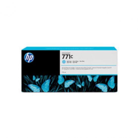 No771C Light cyan ink cartridge, 775ml