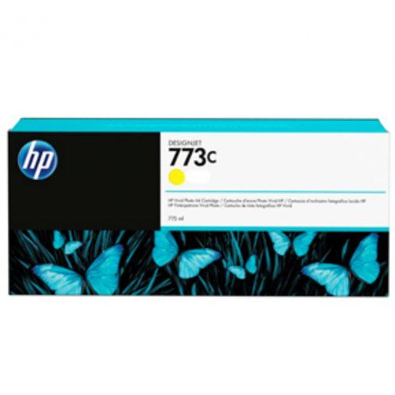 No773C yellow ink cartridge, 775ml