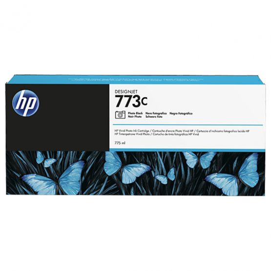 No773C photo black ink cartridge, 775ml