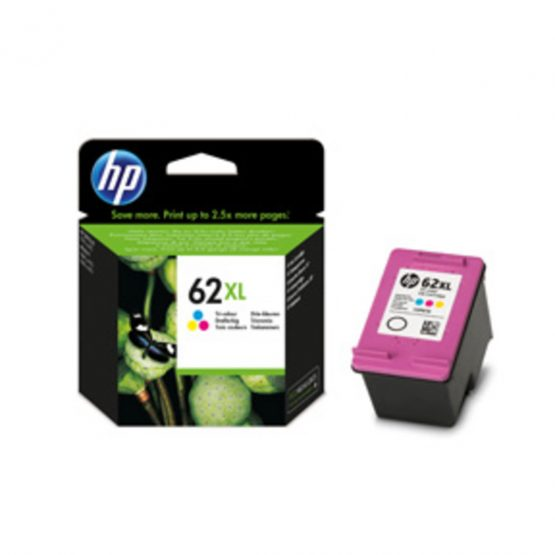 No62 XL color ink cartridge, blistered