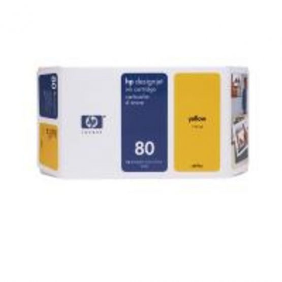 No80 yellow ink cartridge, 350ml