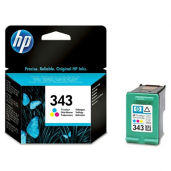 No343 color ink cartridge, blistered