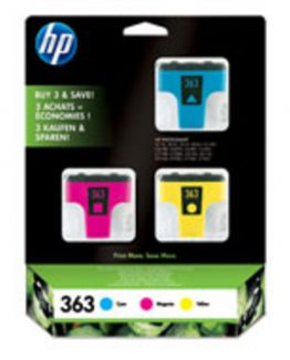 No363 Ink 3-pack (cyan/magenta/yellow)