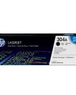 Color LaserJet 304A black (2) dual-pack