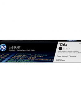 Color LaserJet 126A black dual-pack (2)