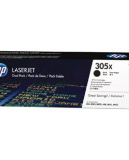 Color LaserJet 305X black twin-pack