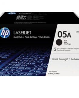 LaserJet 05A black 2-pack toner