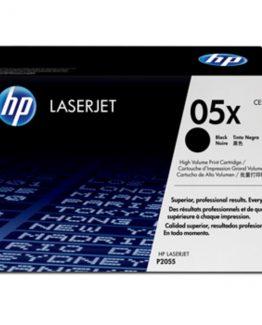 LaserJet 05X black toner (2) dual-pack