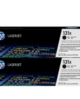 Color LaserJet 131X 2-pack black toner