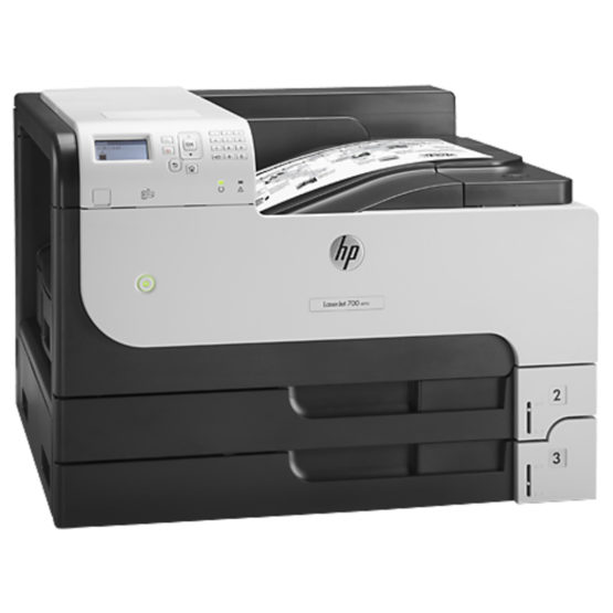 HP LaserJet A3 Enterprise M712dn printer