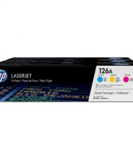 Color LaserJet 126A c/y/m tri-pack