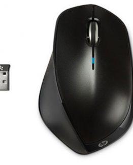 HP X4500 Wireless Mouse, Metal Black