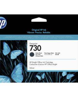 HP no730 130 ml. Matte Black DesignJet Ink Cartridge