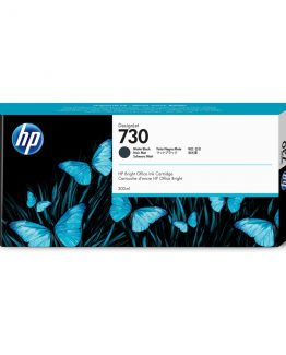 HP no730 300 ml. Matte Black DesignJet Ink Cartridge
