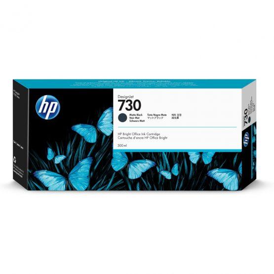 HP no730 300 ml. Matte Black DesignJet Ink Cartridge
