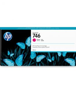 HP No746 300 ml. Magenta DesignJet Ink Cartridge
