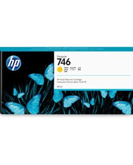 HP No746 300 ml. Yellow DesignJet Ink Cartridge