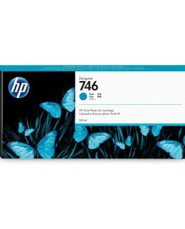 HP No746 300 ml. Cyan DesignJet Ink Cartridge